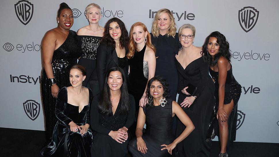 Звезды выйдут в черном на красную дорожку кинопреми BAFTA 2018