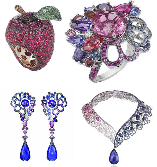 На новую коллекцию ювелирных изделий Chopard вдохновили диснеевские принцессы