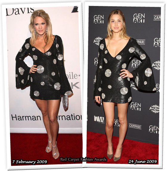 Fashion battle: Кэрри Андервуд и Уитни Порт