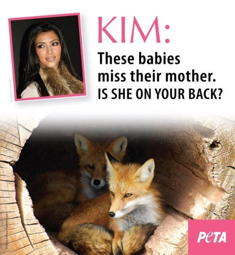 PETA против Ким Кардашиан