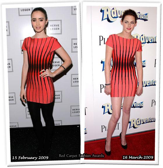 Fashion battle: Лили Коллинс и Кристен Стюарт