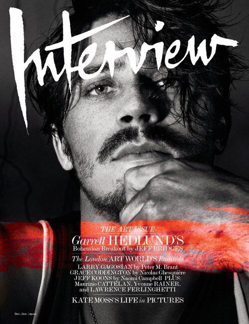 Гарретт Хедланд в журнале Interview. Декабрь / январь 2012-2013