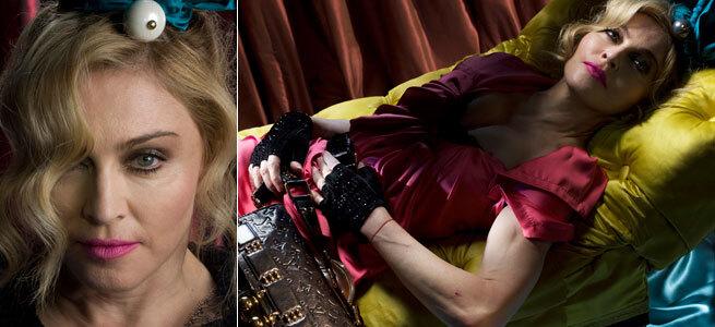 Фото Мадонны для Louis Vuitton и Vanity Faire без фотошопа