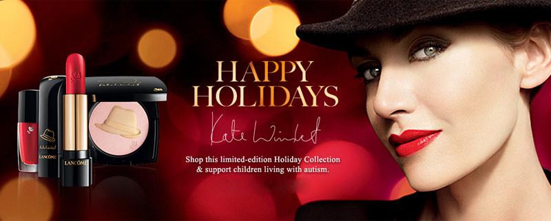 Кейт Уинслет в рекламной кампании линии косметики Lancôme