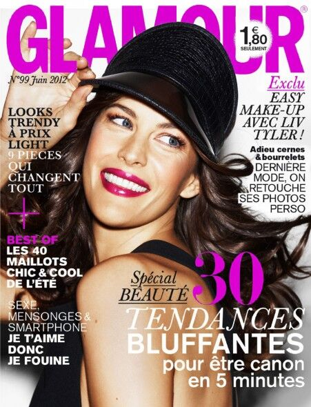 Лив Тайлер в журнале Glamour Франция. Июнь 2012