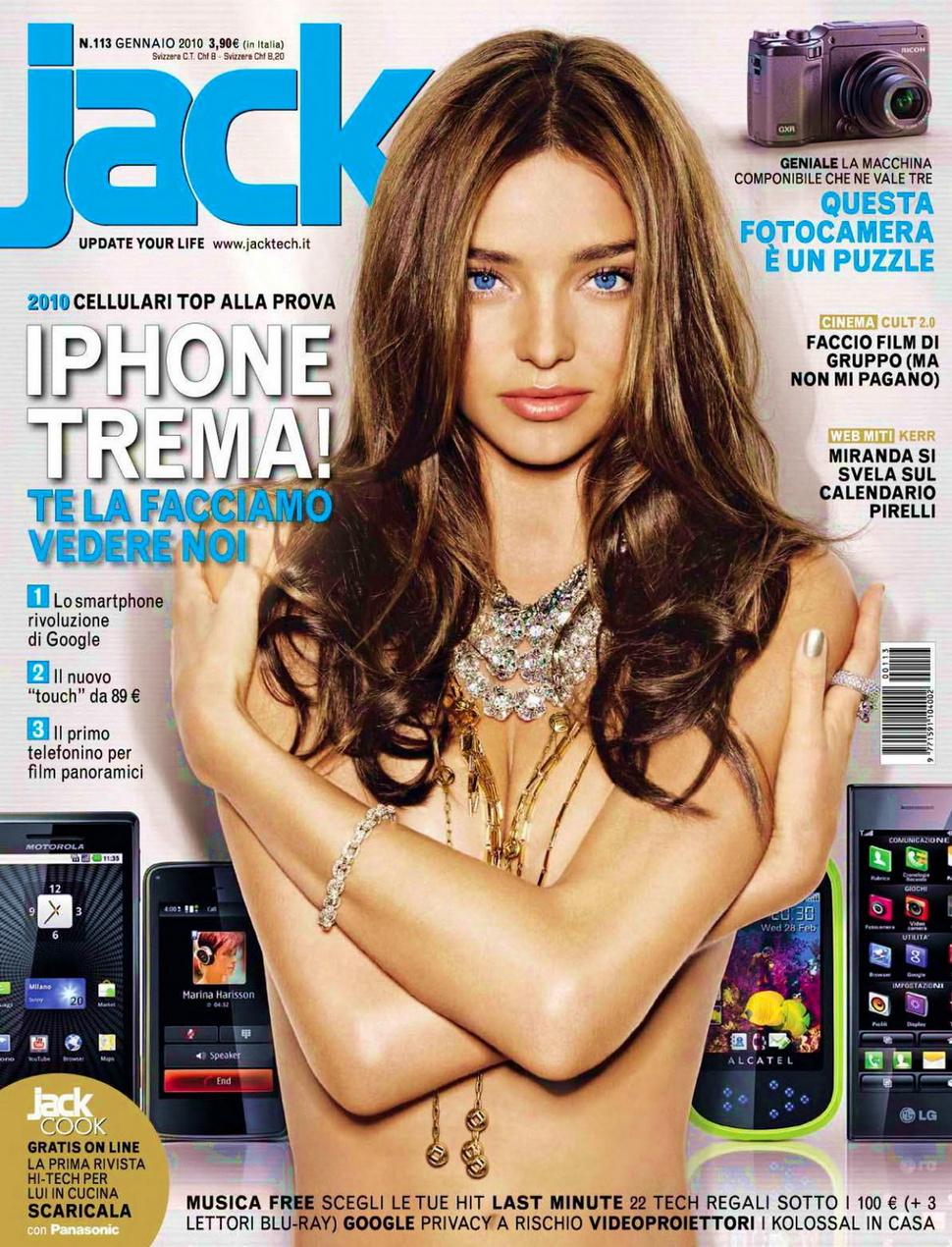 Миранда Керр в журнале Jack. Январь 2010