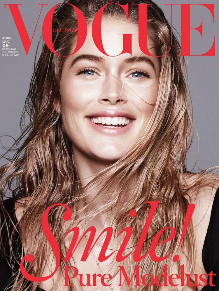 Даутцен Крез в журнале Vogue Германия. Март 2013