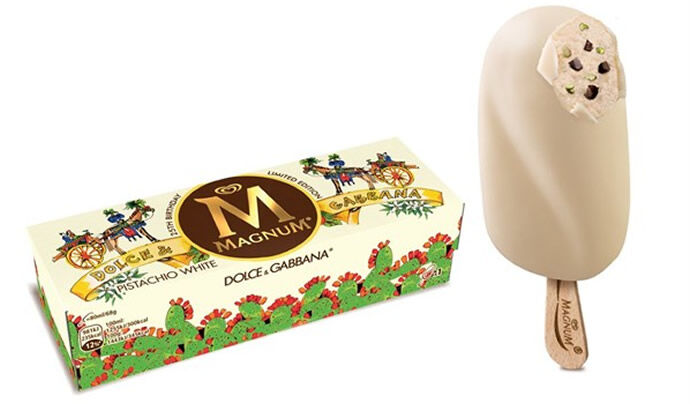 Мороженое Magnum ограниченным тиражом от Dolce and Gabbana