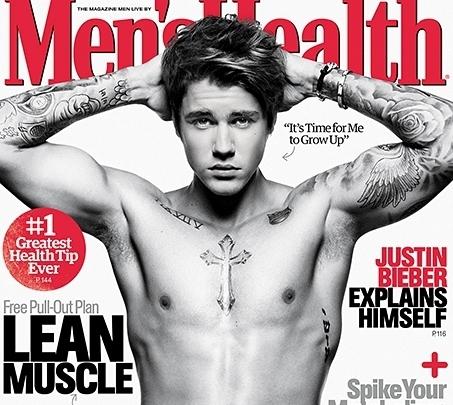 Автор Men's Health сравнил Джастина Бибера со скунсом
