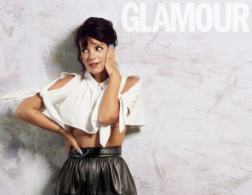Лили Аллен в журнале Glamour Великобритания. Июнь 2014