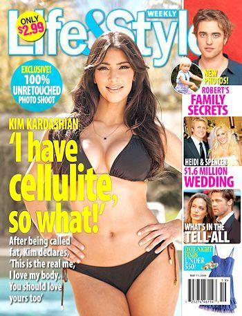 Ким Кардашян в журнале Life anf Style. Май 2009