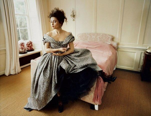 Хелена Бонем Картер в фотосете для Harper's Bazaar, июнь 2016