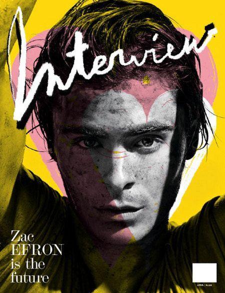 Грязный Зак Эфрон в журнале Interview Magazine. Апрель 2009