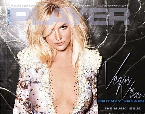Бритни Спирс в журнале Vegas Player. Осень / зима 2013-2014