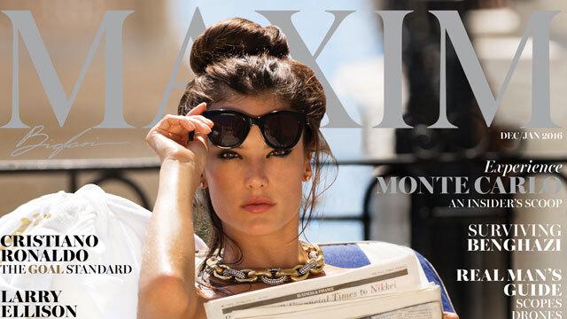 Алессандра Амбросио снялась обнаженной для Maxim