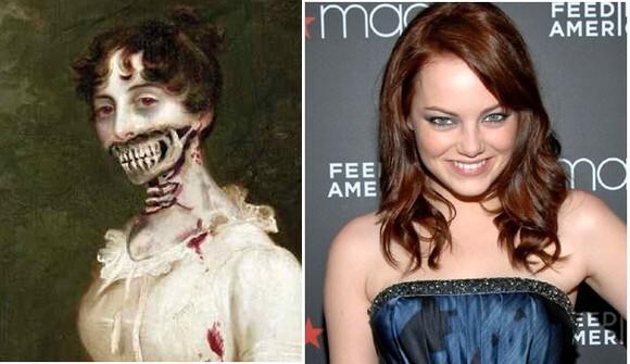 Эмма Стоун соскучилась по зомби