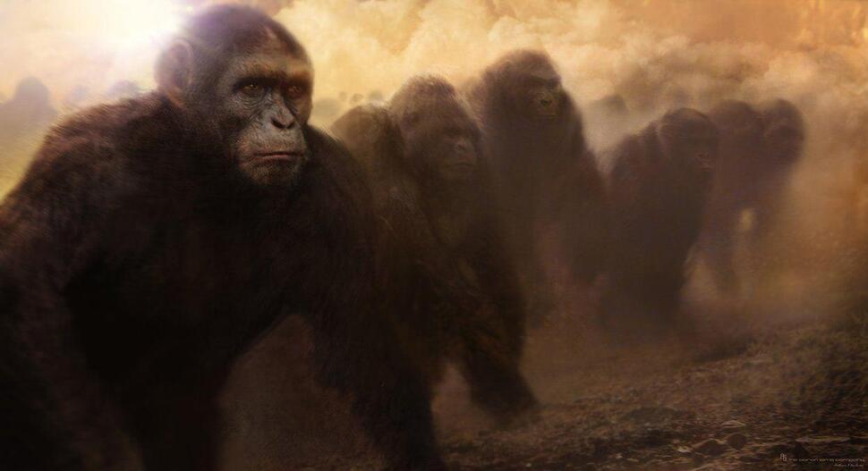 Трейлер к фильму «Восстание планеты обезьян»