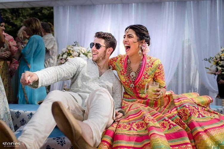 Приянка Чопра и Ник Джонас поделились первыми фото со свадьбы