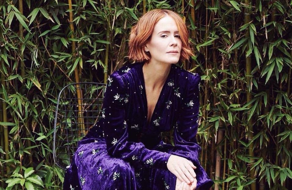 Сара Полсон в фотосессии для нового Esquire