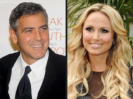 Джордж Клуни все еще встречается со Стейси Киблер