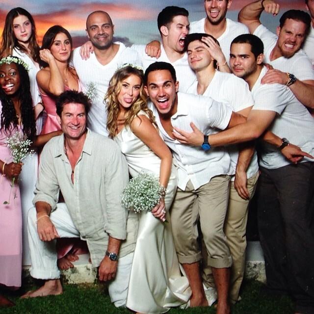Свадьба Алексы Веги и Карлоса Пены