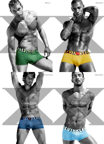 Реклама коллекции X Elements от Calvin Klein