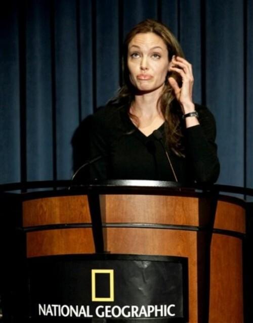 Украдены платья Анджелины Джоли