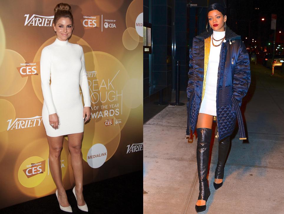 Fashion battle: Мария Менунос и Рианна