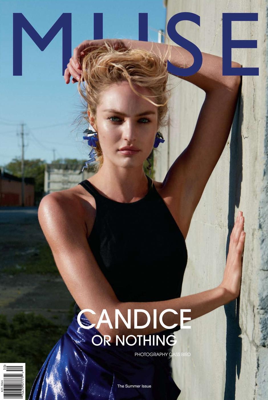 Кэндис Свэйнпоул в журнале Muse. Лето 2012