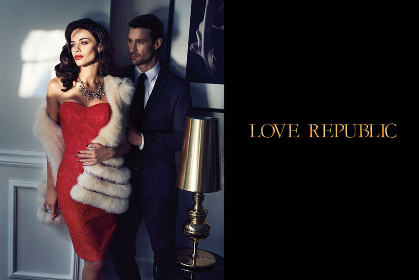 Новая рекламная кампания Love Republic. Осень / зима 2014