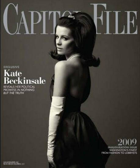 Кейт Бэкинсэйл в журнале Capitol File