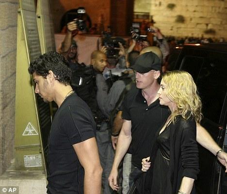Мадонна и Хесус в Иерусалиме