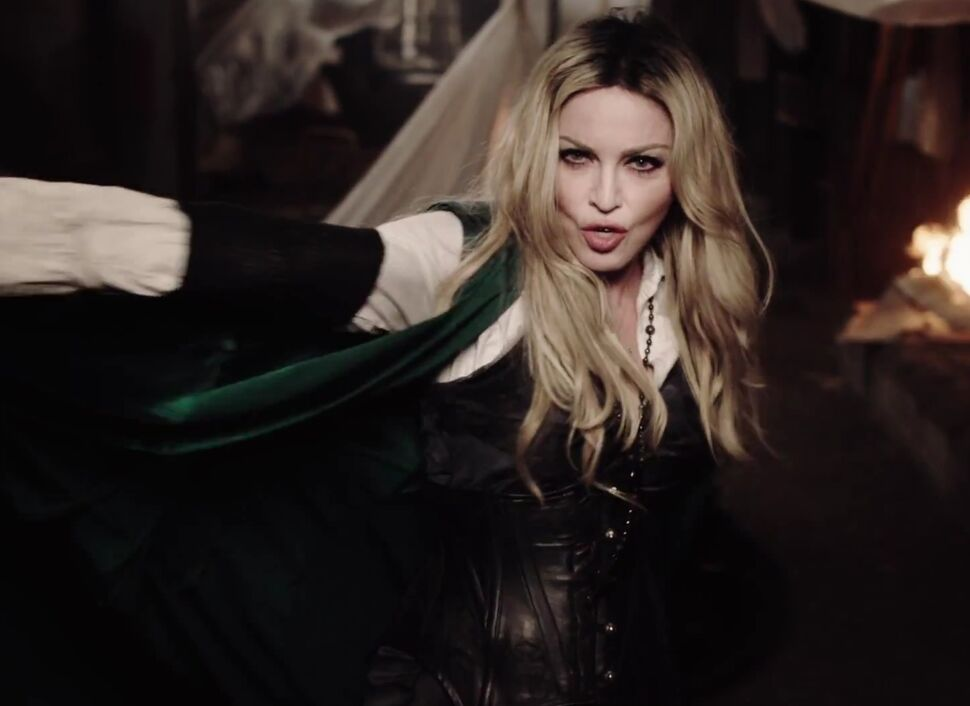 Новый клип Мадонны — Ghosttown
