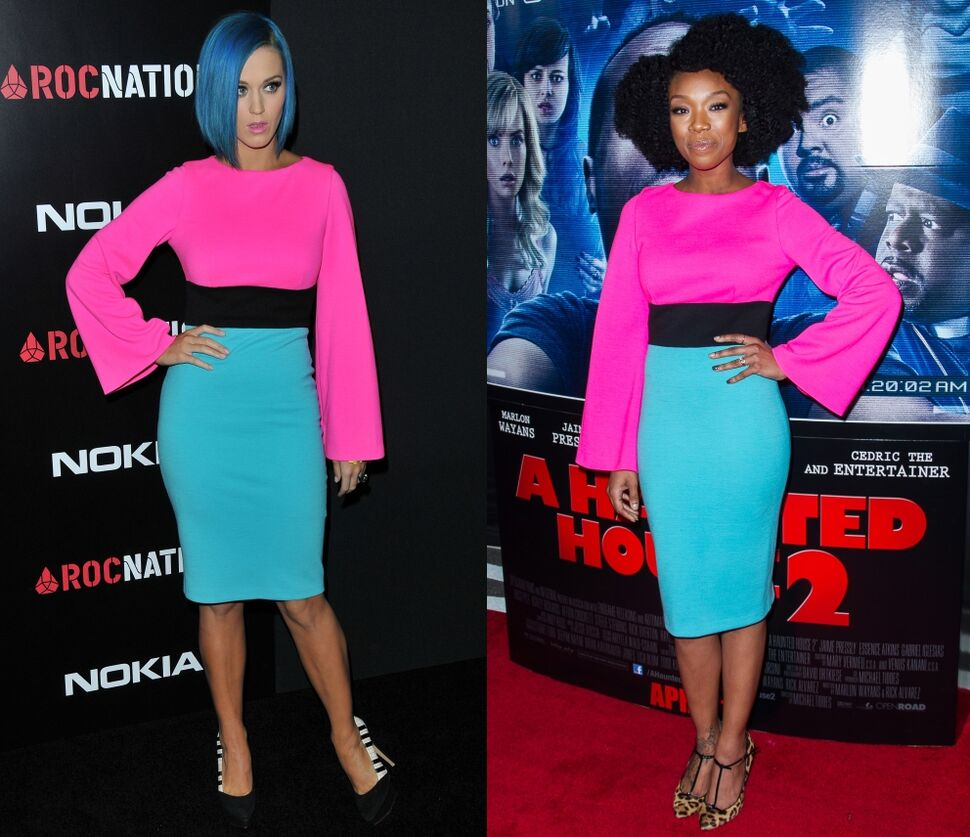 Fashion battle: Кэти Перри и Брэнди