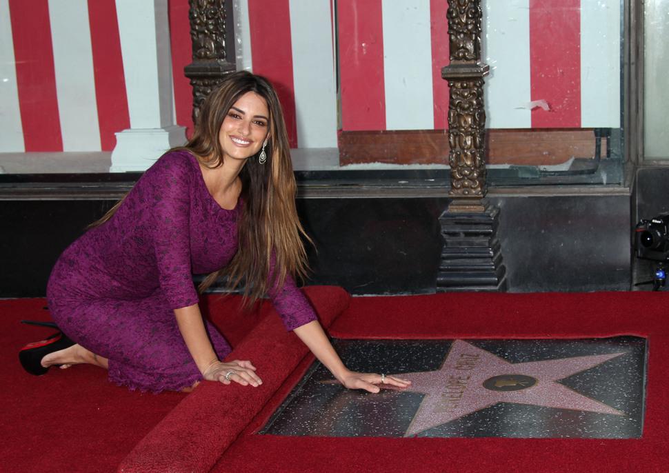 Пенелопа Крус получила свою звезду на Аллее Славы в Голливуде