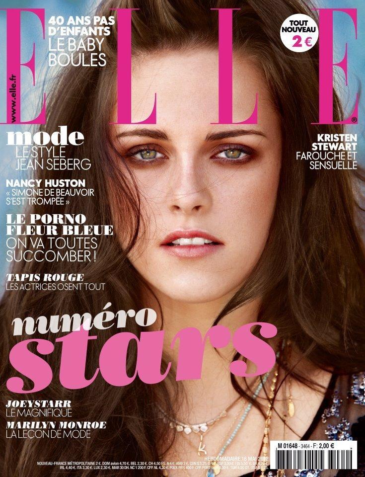 Кристен Стюарт в журнале Elle Франция. Июнь 2012