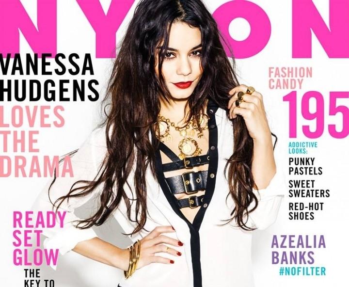 Ванесса Хадженс в журнале Nylon. Февраль 2014