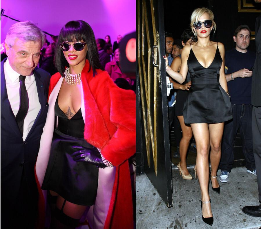 Fashion Battle: Рианна и Рита Ора