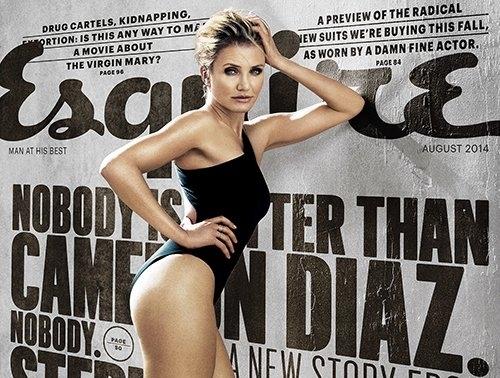 Камерон Диаз в журнале Esquire. Август 2014