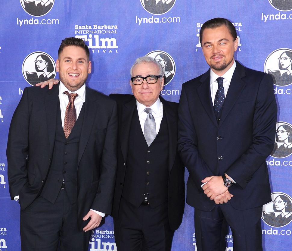 Леонардо Ди Каприо и Мартина Скорсезе наградили за совместную работу