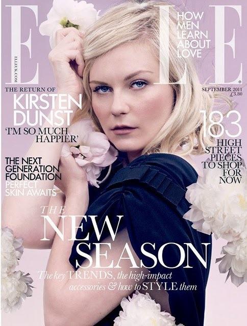 Кирстен Данст в журнале Elle. Сентябрь 2011