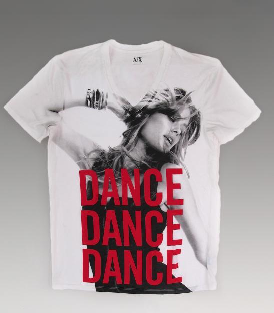Даутцен Крез создает футболку совместно с Armani Exchange