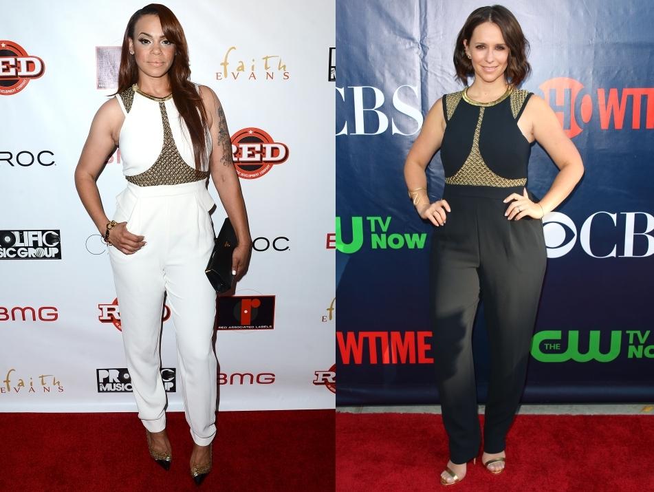 Fashion battle: Фэйт Эванс и Дженнифер Лав Хьюитт