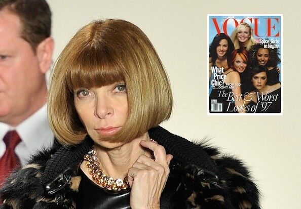 Анна Винтур не гордится обложкой Vogue с группой Spice Girls