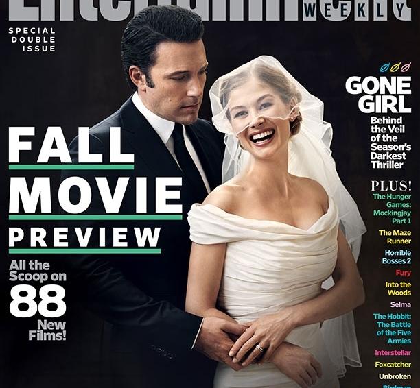 Бен Аффлек и Розамунд Пайк на обложке журнала Entertainment Weekly