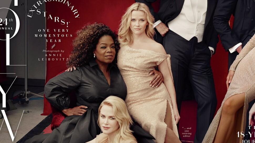 Создатели обложки Vanity Fair «нарисовали» Риз Уизерспун третью ногу