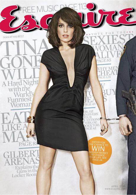 Тина Фей в журнале Esquire. Апрель 2010