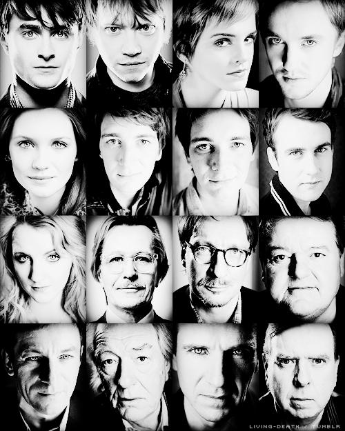 Журнал Empire представил портреты актеров Поттерианы