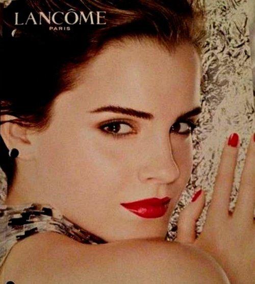 Эмма Уотсон в рекламной кампании Lancome