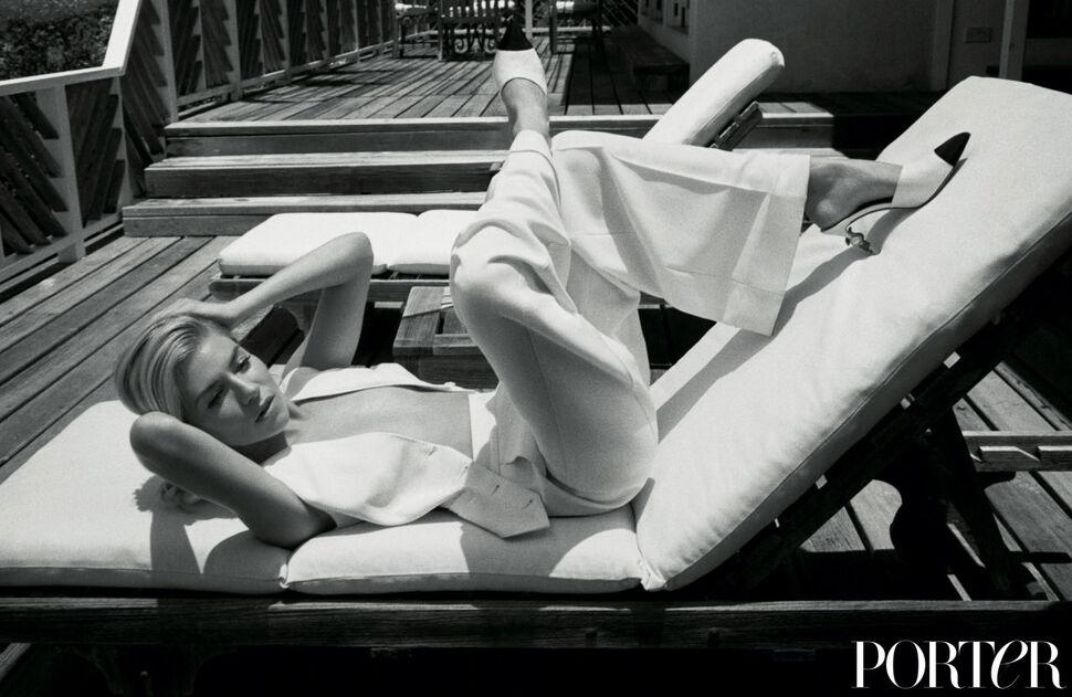Сиенна Миллер снялась для журнала Porter